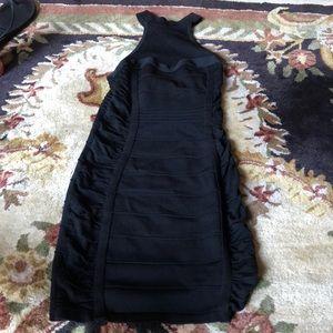 Arden B Halter Black Dress